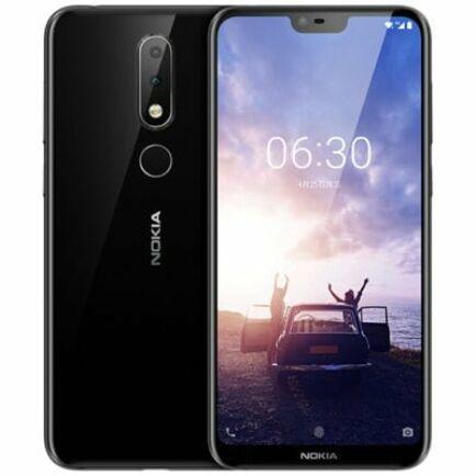 EU ECO Raktár - NOKIA X6 4G okostelefon - 6GB 64GB - Fekete