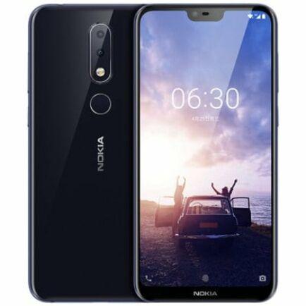 EU ECO Raktár - NOKIA X6 4G okostelefon - 6GB 64GB - Sötét kék