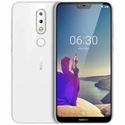 EU ECO Raktár - NOKIA X6 4G okostelefon - 6GB 64GB - Fehér