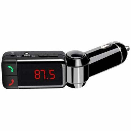 BC06 Autós FM Transzmitter Vezetéknélküli Bluetooth - Fekete