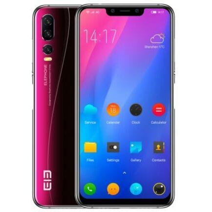 Elephone A5 4G okostelefon - 4GB 64GB Ázsiai verzió - Fekete
