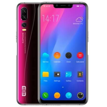 Elephone A5 4G okostelefon - 4GB 64GB - Fekete