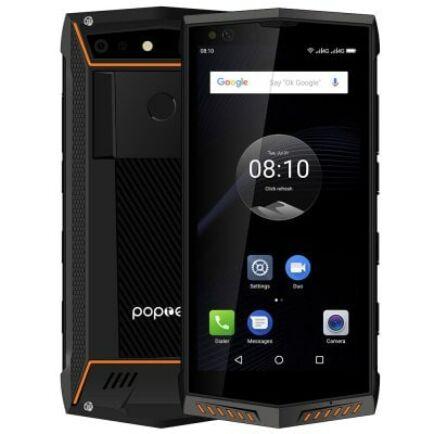 EU ECO Raktár - Poptel P60 4G okostelefon - Narancs