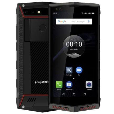 EU ECO Raktár - Poptel P60 4G okostelefon - Piros