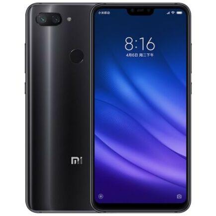 EU Raltár - Xiaomi Mi 8 Lite 4G okostelefon (PL) - Globális verió - 128GB - Fekete