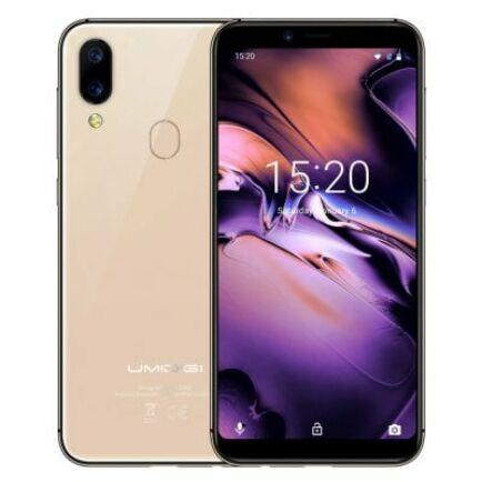 EU ECO Raktár - UMIDIGI A3 4G okostelefon - Arany