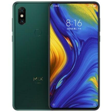 EU ECO Raktár - Xiaomi Mi Mix 3 4G okostelefon - 8GB 128GB - Zöld