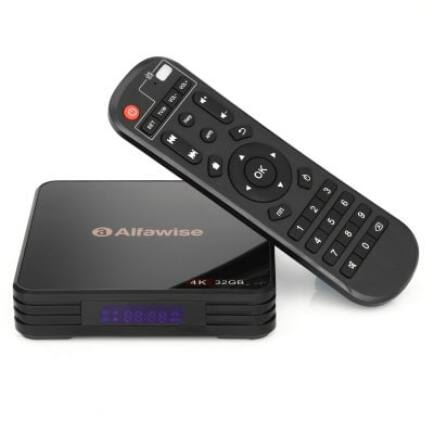 Alfawise A5X TV Box 4GB DDR3 RAM + 32GB eMMC ROM