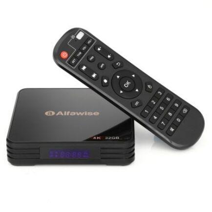 EU ECO Raktár - Alfawise A5X TV Box 4GB DDR3 RAM + 32GB eMMC ROM
