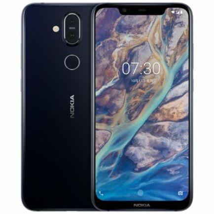 EU ECO Raktár - Nokia X7 4G okostelefon - 4GB 64GB - Éj kék