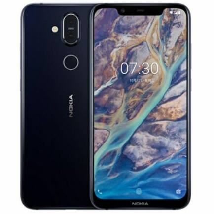 EU ECO Raktár - Nokia X7 4G okostelefon - 6GB 128GB - Kék