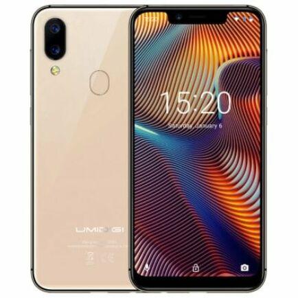 UMIDIGI A3 Pro 4G okostelefon - 3GB 32GB - Arany