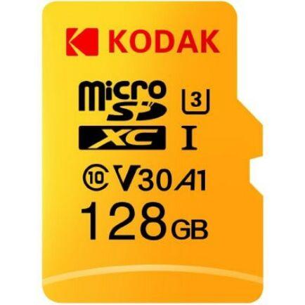 Kodak U3 A1 V30 microSD Memória kártya 128 GB