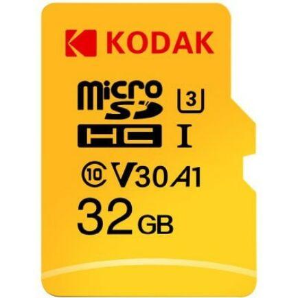 Kodak U3 A1 V30 microSD Memória kártya 32 GB