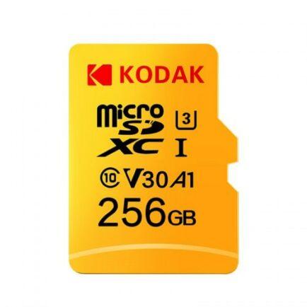Kodak Nagysebességű U3 A1 V30 Micro SD Memóriakártya - 256GB