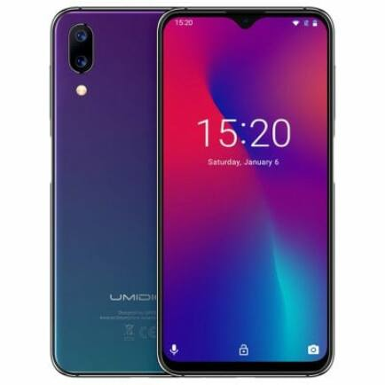 EU ECO Raktár - UMIDIGI One Max 4G okostelefon - Alkonyat