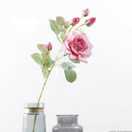 Aranyozott Rózsa - Piros (2db.)