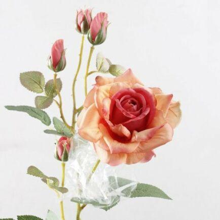 Aranyozott Rózsa - Narancssárga (2db.)