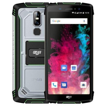EU ECO Raktár - ZOJI Z11 4G okostelefon - Zöld