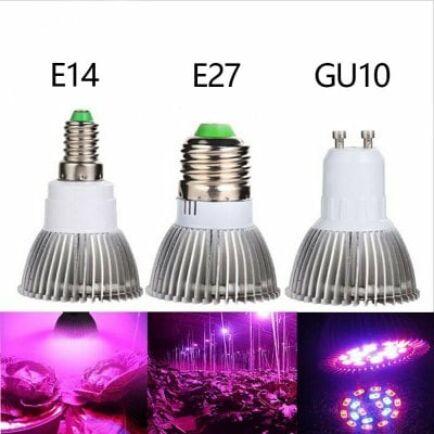 Factory direct 18 LED Full Spectrum Lámpa (E27)