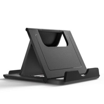 TIEGEM Asztali Univerzális Mobiltelefon Tartó Állvány - Fekete