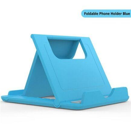 TIEGEM Asztali Univerzális Mobiltelefon Tartó Állvány - Kék