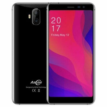 EU ECO Raktár - AllCall Rio X 3G okostelefon - Fekete