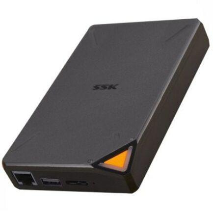 EU ECO Raktár - SSK - F200 1TB Vezetéknélkül Használható Külső Winchester USB Csatlakozóval