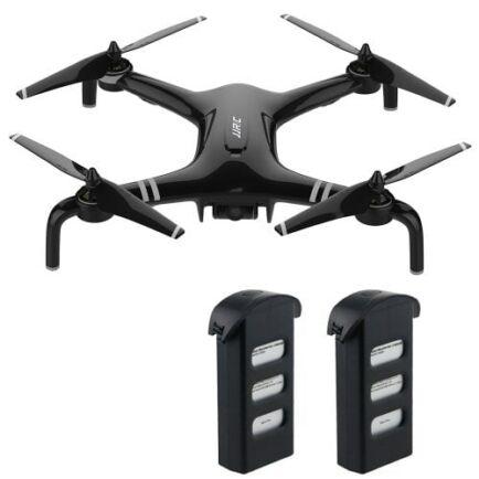 EU ECO Raktár - JJRC X7 Double GPS 5G WiFi 1080P FPV RC Drón- Fekete - 2 Akkumulátorral
