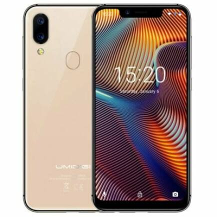UMIDIGI A3 Pro 4G okostelefon - 3GB 16GB - Arany