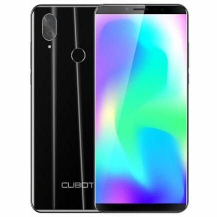 EU ECO Raktár - CUBOT X19 4G okostelefon - Fekete