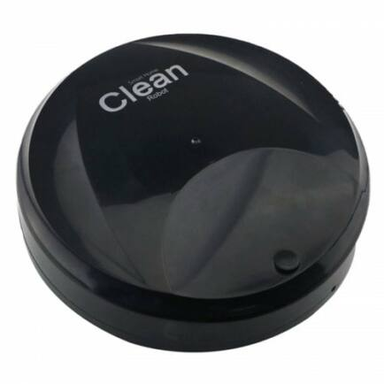 Slim USB Intelligens Automatikus Vákumos Robotporszívó - Fekete