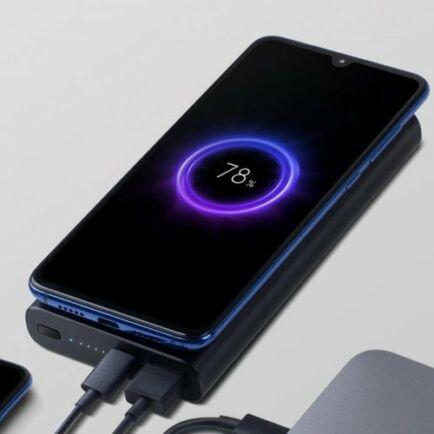 EU ECO Raktár - Xiaomi 10000mAh Power Bank Vezetéknélküli Töltési Funkcióval