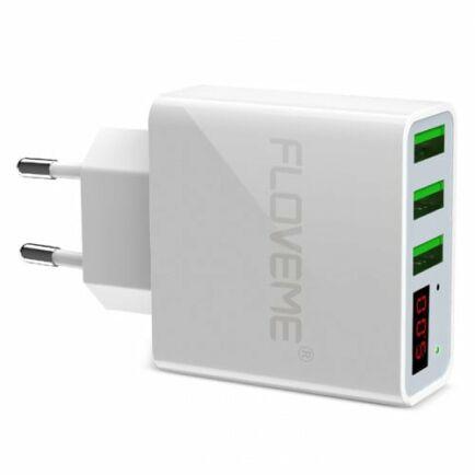 FLOVEME 3 USB Porttal Rendelkező Fali Adapter