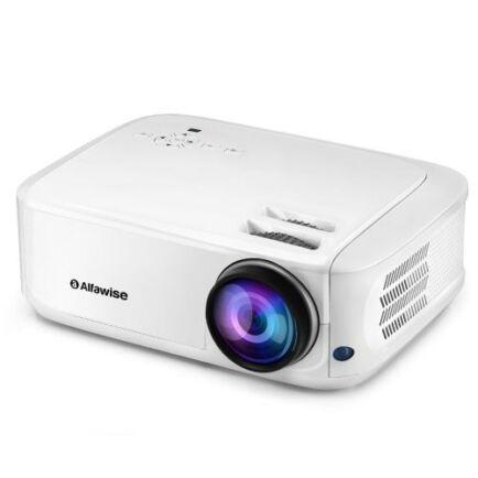 EU ECO Raktár - Alfawise A9 4300 Lumen HD Okos Projektor