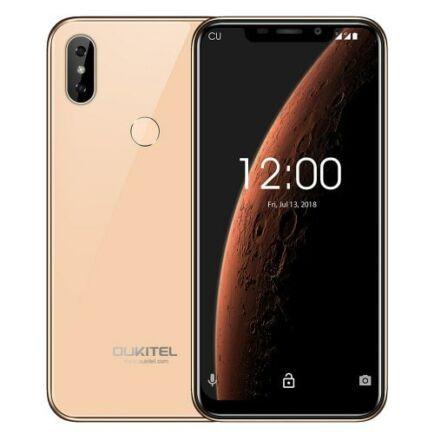 EU ECO Raktár - OUKITEL C13 Pro 4G okostelefon - Arany