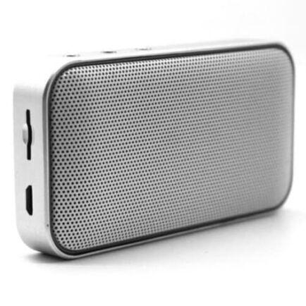 AEC BT209 Vezetéknélkküli Hordozható Bluetooth Hangszóró - Ezüst