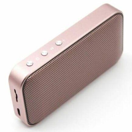 AEC BT209 Vezetéknélkküli Hordozható Bluetooth Hangszóró - Rose Gold