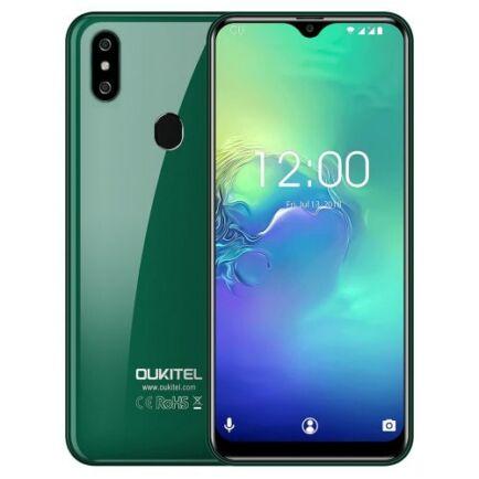EU ECO Raktár - OUKITEL C15 Pro 4G okostelefon - Zöld