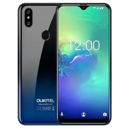 Eu ECO Raktár - OUKITEL C15 Pro 4G okostelefon- Kék