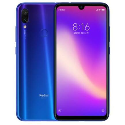 Xiaomi Redmi Note 7 Pro 4G okostelefon - Kék