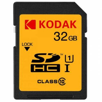 KODAK U1 Class 10 Nagysebességű SD Memóriakártya - 32 GB
