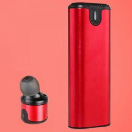 gocomma A2 TWS V5.0 Bluetooth Vezetéknélküli Fülhallgató - Piros