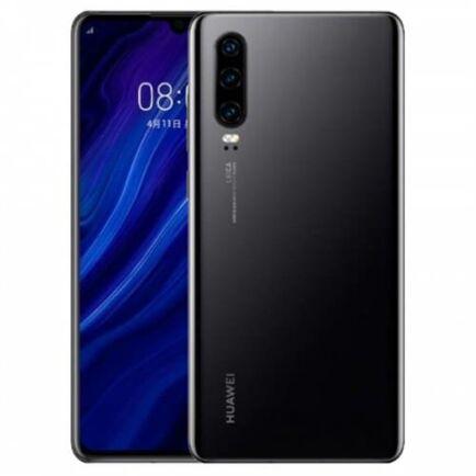 EU ECO Raktár - Huawei P30 4G okostelefon - 8GB 64GB - Fekete