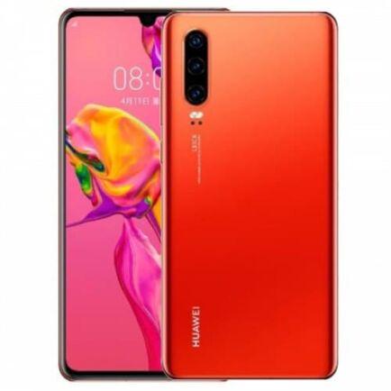 EU ECO Raktár - Huawei P30 4G okostelefon - 8GB 128GB - Piros