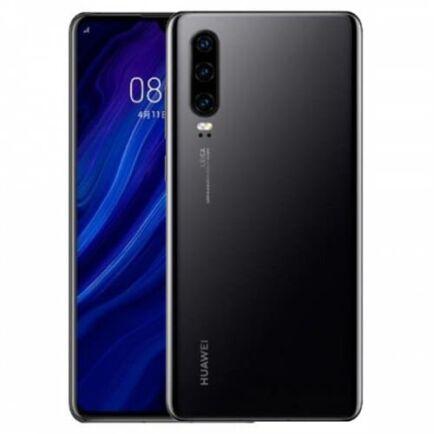 EU ECO Raktár - Huawei P30 4G okostelefon - 8GB 256GB - Fekete
