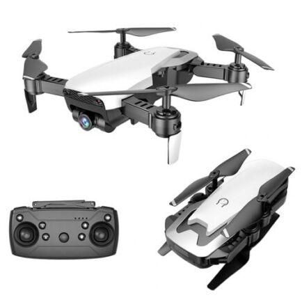 EU ECO Raktár - X12S 4K Dual Kamerás RC Drón - Fehér 1080p