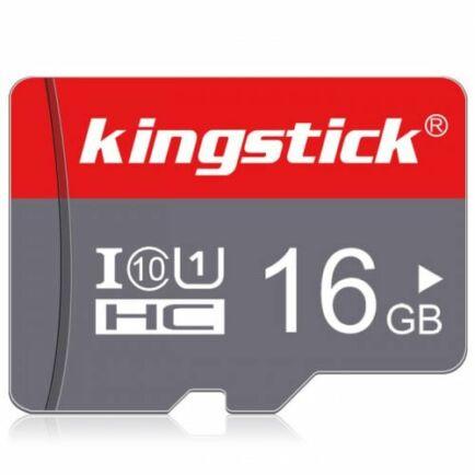 Kingstick Micro SD / TF Memóriakártya - 16 GB