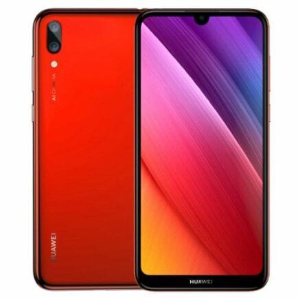 EU ECO Raktár - HUAWEI Y7 Pro 2019 4G okostelefon - 3GB 32GB - Piros
