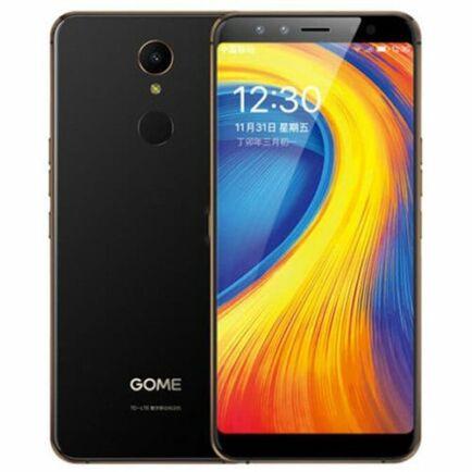 EU ECO Raktár - GOME U7 ( 2017M27A ) 4G okostelefon - Fekete